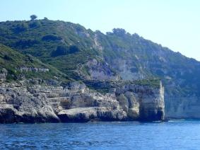 Arche naturelle sur la côte ouest de Paxos